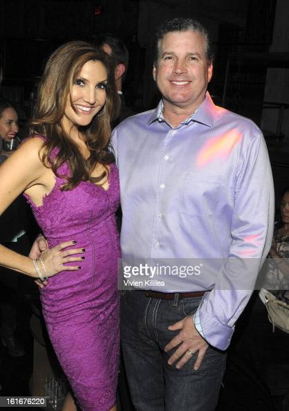heather mcdonald and her husband peter dobias attend