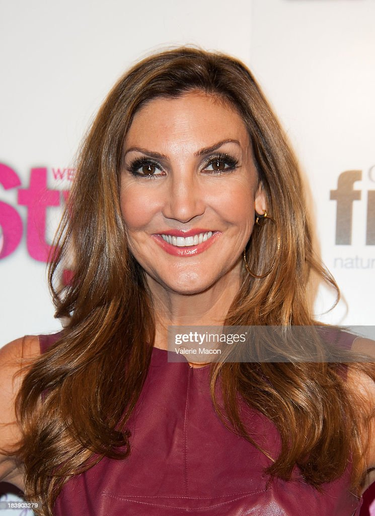 <a gi-track='captionPersonalityLinkClicked' href=/galleries/search?phrase=Heather+McDonald&family=editorial&specificpeople=4756128 ng-click='$event.stopPropagation()'>Heather McDonald</a> arrives at Life & Style's Hollywood In Bright Pink Event Hosted By Giuliana Rancic at Bagatelle on October 9, 2013 in Los Angeles, California.