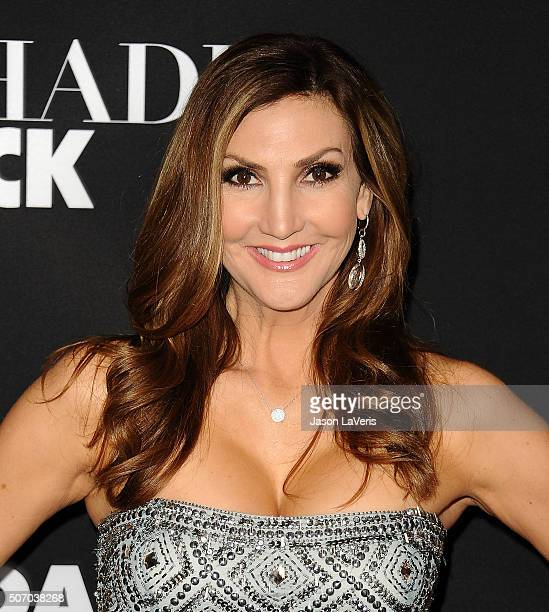 Heather McDonald attends the premiere of 'Fifty Shades of Black' at Regal Cinemas LA Live on January 26 2016 in Los Angeles California