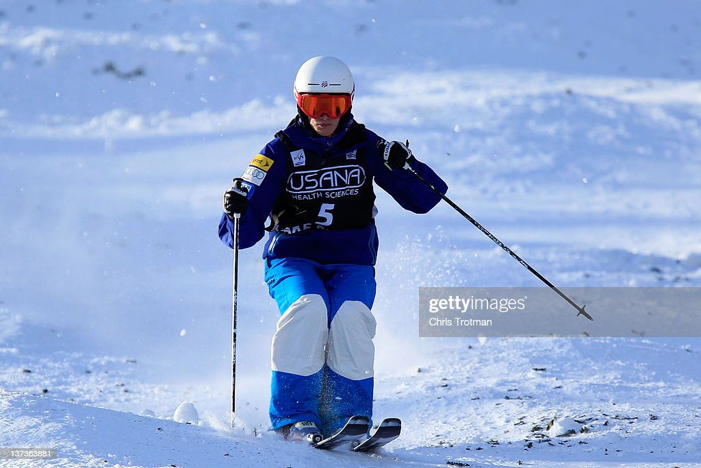 <a gi-track='captionPersonalityLinkClicked' href=/galleries/search?phrase=Heather+McPhie&family=editorial&specificpeople=4105079 ng-click='$event.stopPropagation()'>Heather McPhie</a> competes in the Ladies' Moguls Final during the USANA Health Sciences Lake Placid FIS Freestyle World Cup on January 19, 2012 in Lake Placid, New York.