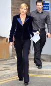 Heather Mills appears after an employment tribunal on April 1 2010 in Ashford Kent