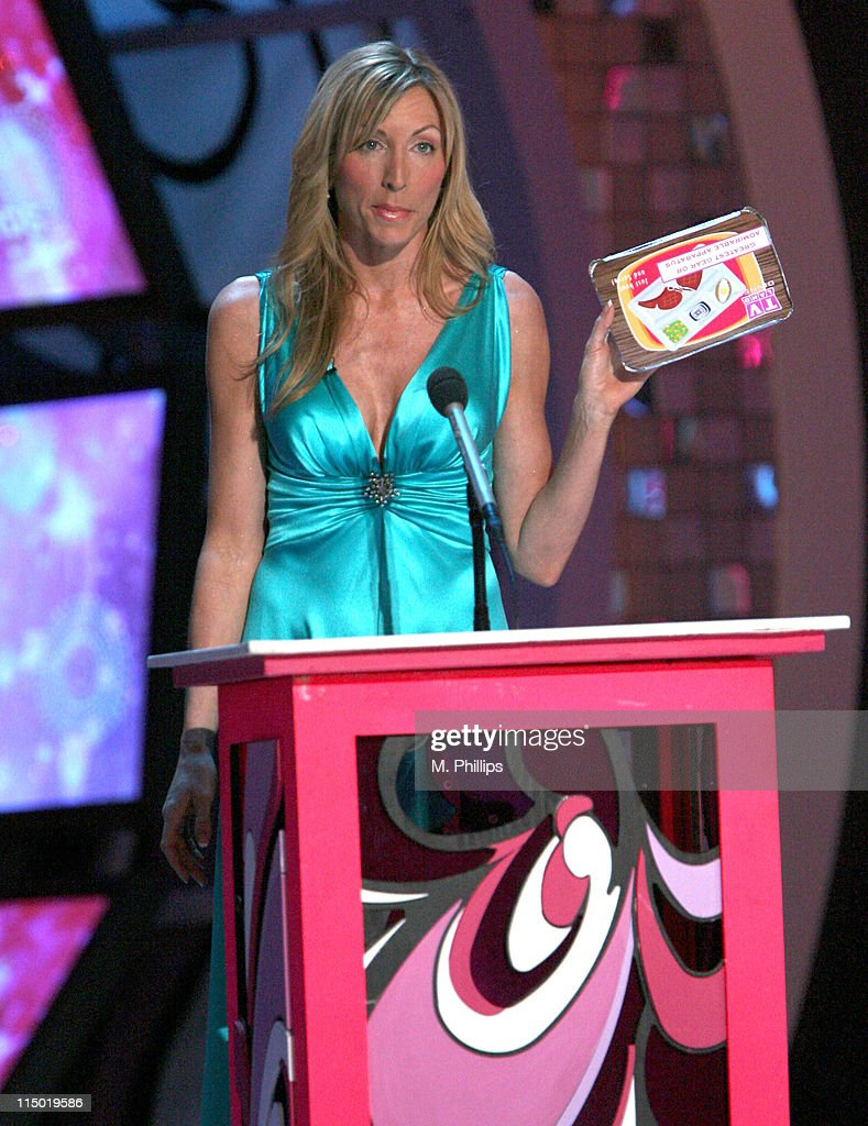 <a gi-track='captionPersonalityLinkClicked' href=/galleries/search?phrase=Heather+Mills&family=editorial&specificpeople=213766 ng-click='$event.stopPropagation()'>Heather Mills</a>, presenter during 5th Annual TV Land Awards - Show at Barker Hangar in Santa Monica, California, United States.