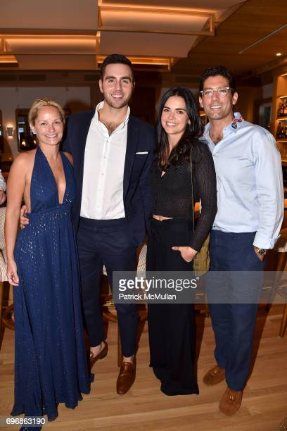 Heather Mnuchin Mark Mullett Kate Bloomfield and Katie Lee attend Cocktails to Learn About The Sag Harbor Cinema Project at Le Bilboquet on June 16...