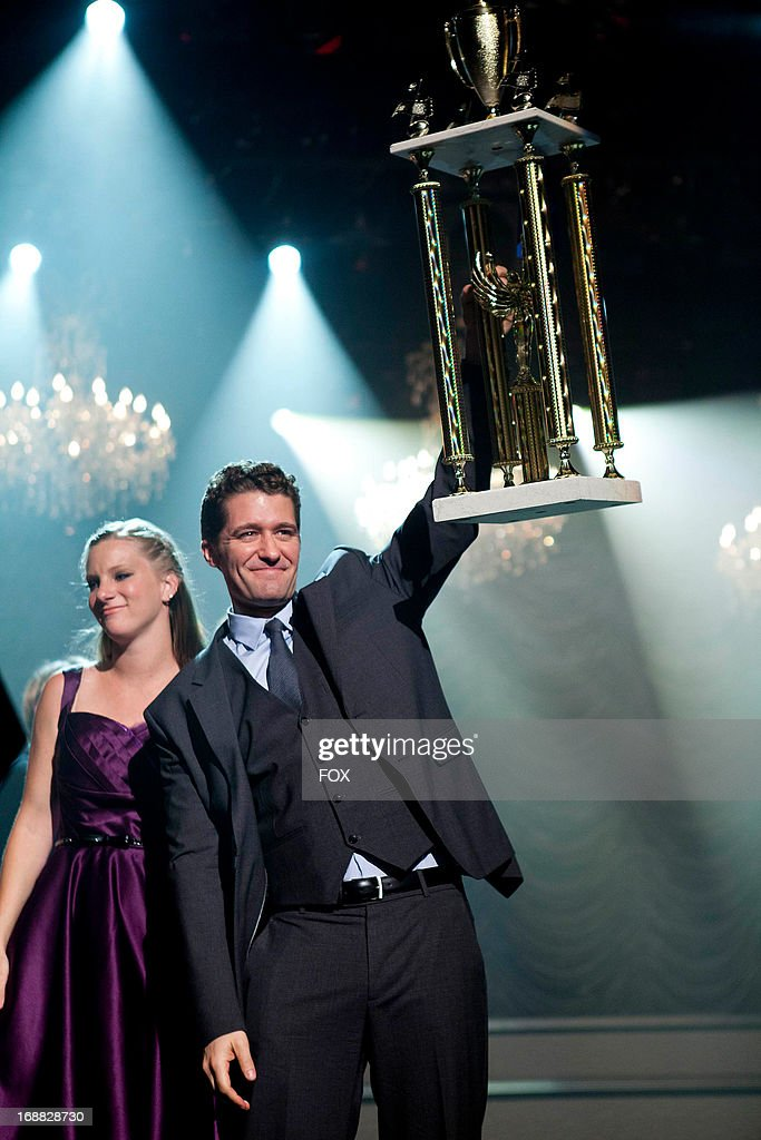 Heather Morris (L) and Matthew Morrison star in the 'All or Nothing' episode of GLEE airing Thursday, May 9, 2013 (9:00-10:00 PM ET/PT) on FOX.