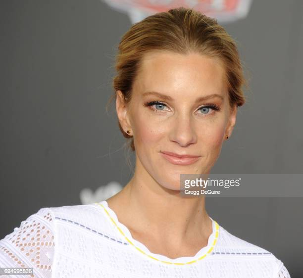 Heather Morris arrives at the premiere of Disney And Pixar's 'Cars 3' at Anaheim Convention Center on June 10 2017 in Anaheim California