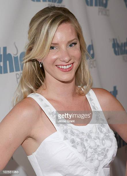 Heather Morris attends The Inaugural Thirst Gala held at Casa Del Mar on June 29 2010 in Santa Monica California