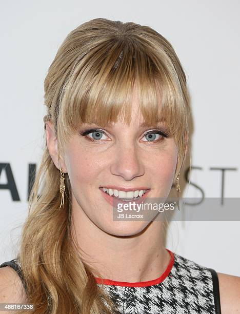 Heather Morris attends The Paley Center for Media's 32nd annual PALEYFEST LA 'Glee' at Dolby Theatre on March 13 2015 in Hollywood California