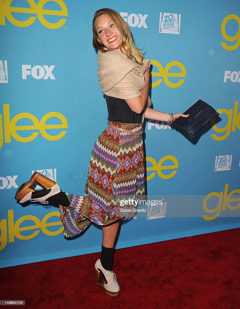 Heather Morris attends TV Academy's special screening of 'GLEE' at Leonard H. Goldenson Theatre on May 1, 2012 in North Hollywood, California.