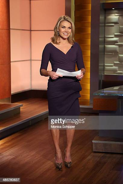 Heather Nauert attends Valerie Harper Visits 'FOX Friends' at FOX Studios on April 17 2014 in New York City