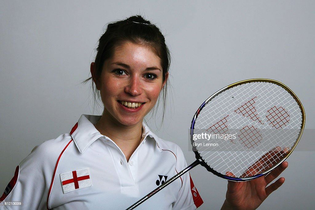 Heather Olver poses for a photo prior to a training session at the National Badminton Centre on May 22, 2008 in Milton Keynes, England.