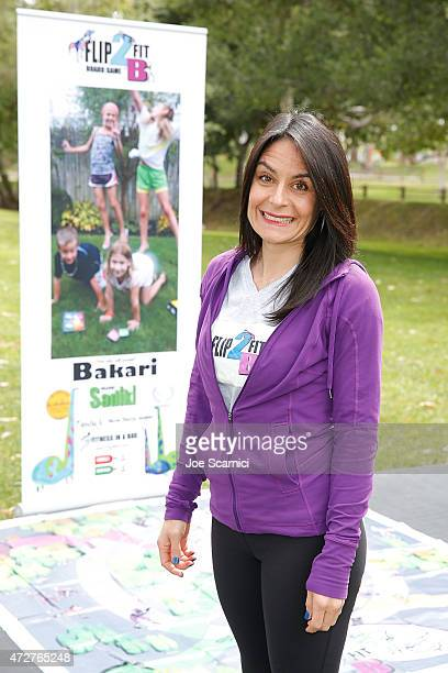 Heather Parisi attends Fit2BKids/Flip2BFit Fitness Day Hosted By UFC's Quinton 'Rampage' Jackson at El Toro Park on May 9 2015 in Lake Forest...