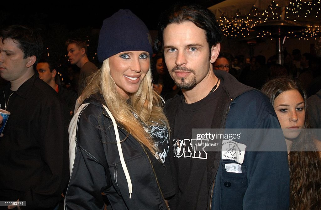 Heather Parkhurst & Danny Loner from <a gi-track='captionPersonalityLinkClicked' href=/galleries/search?phrase=Nine+Inch+Nails&family=editorial&specificpeople=799973 ng-click='$event.stopPropagation()'>Nine Inch Nails</a>