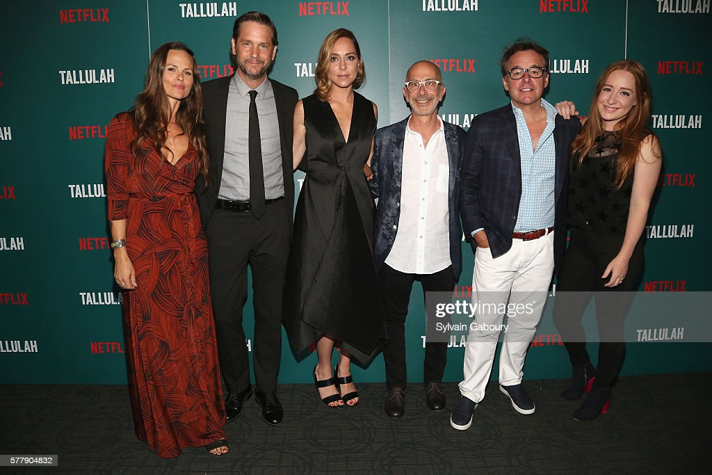 Heather Rae David Newson Sian Heder Russell Levine Chris Columbus and Eleanor Columbus attend Netflix Hosts a Special Screening of 'Tallulah' at...