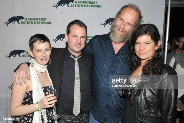 Heather Reddick Han Shan Mike Roselle and Antrim Caskey attend RAINFOREST ACTION NETWORK's 25th Anniversary Benefit Hosted by CHRIS NOTH at Le...