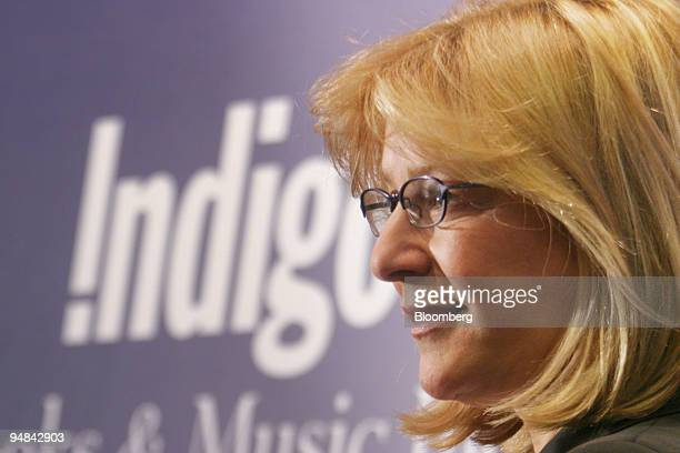 Heather Reisman chairman and CEO of Indigo Books Music Inc attends a book signing by Air Canada's President and CEO Robert A Milton who brought out a...