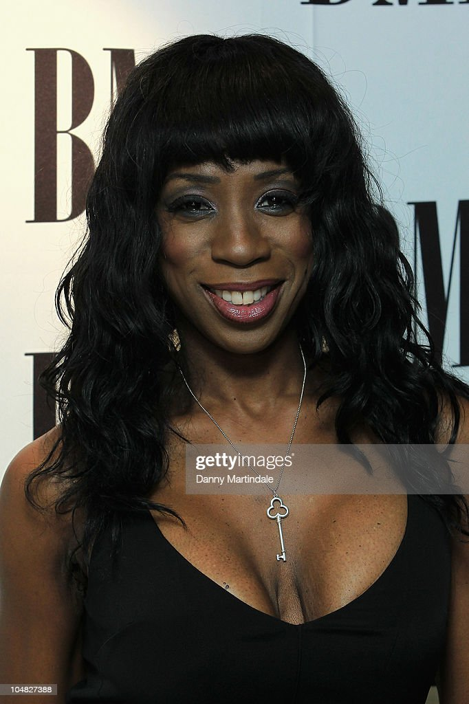 Heather Small arrives at BMI Awards at The Dorchester on October 5, 2010 in London, England.