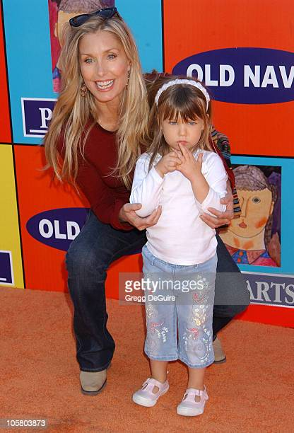 Heather Thomas and daughter India Rose during PS ARTS and Old Navy Welcome Celebrities And Their Families to A Creativity Street Fair Benefiting Arts...
