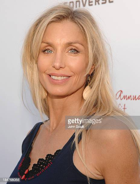 Heather Thomas during 5th Annual John Varvatos Stuart House Benefit Presented by Converse at John Varvatos Boutique in Los Angeles California United...