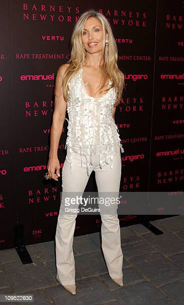 Heather Thomas during Fashion For A Cause Emanuel Ungaro Fashion Show To Benefit Rape Treatment Center at Private Home of Heather Thomas in Santa...