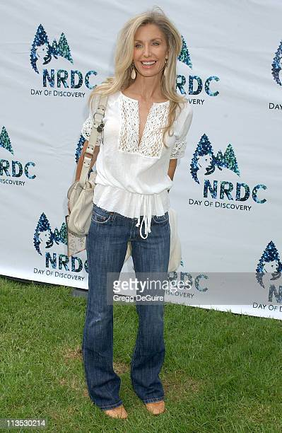 Heather Thomas during NRDC Day Of Discovery Fair Arrivals at Wadsworth Theater Grounds in Westwood California United States