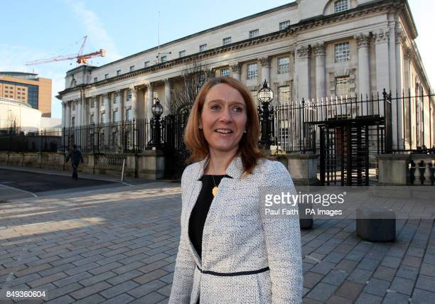 Heather Thompson regional Director of the National Trust outside Belfast High Court where the is in a bid to block the development of a pound100...