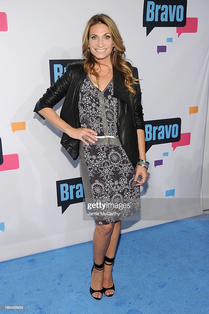 Heather Thomson attends the 2013 Bravo New York Upfront at Pillars 37 Studios on April 3, 2013 in New York City.