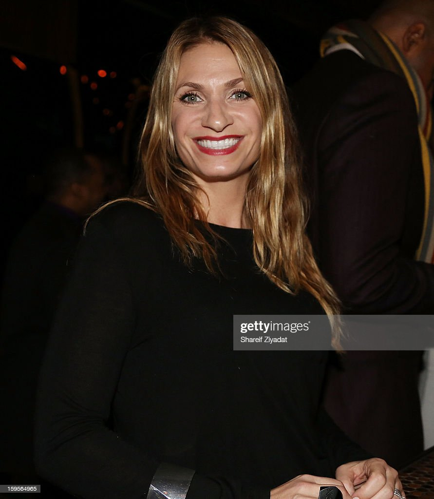 Heather Thomson attends the opening of EVR 54 on January 15, 2013 in New York City.