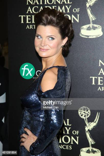 Heather Tom arrives at the 41st Annual Daytime Emmy Awards held at The Beverly Hilton Hotel on June 22 2014 in Beverly Hills California