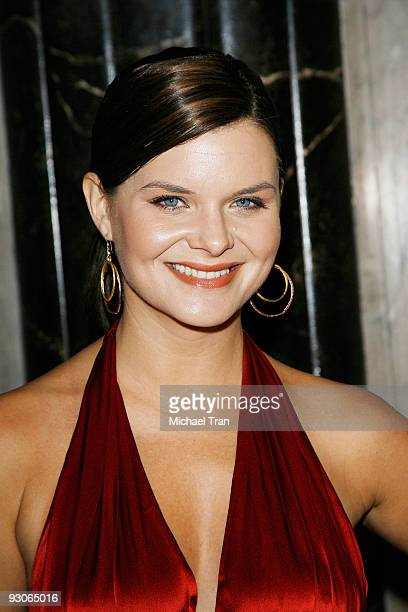 Heather Tom arrives to the Los Angeles premiere of 'Dr Seuss' How The Grinch Stole Christmas The Musical' held at the Pantages Theatre on November 14...