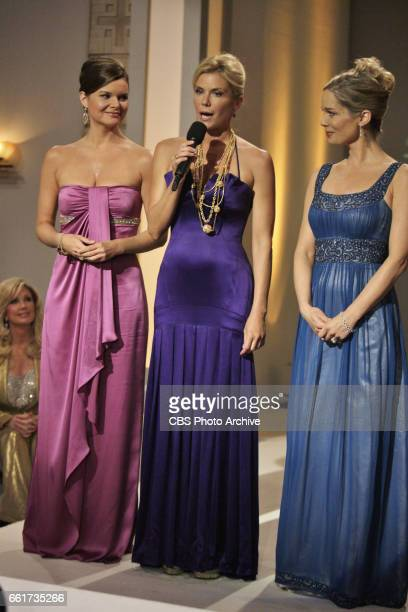 Heather Tom as Katie Logan Katherine Kelly Lang as Brooke Logan and Jennifer Gareis as Donna Logan Forrester of CBSs THE BOLD AND THE BEAUTIFUL are...