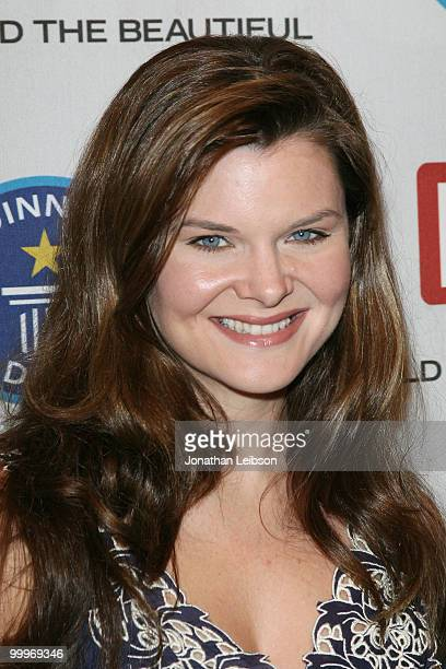 Heather Tom attends the Guinness World Record's official validation of 'The Bold The Beautiful' CBS Studios on May 18 2010 in Los Angeles California