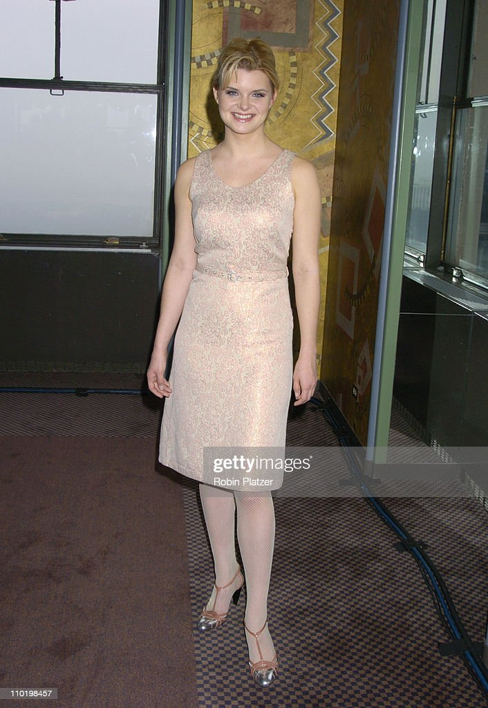 <a gi-track='captionPersonalityLinkClicked' href=/galleries/search?phrase=Heather+Tom&family=editorial&specificpeople=208780 ng-click='$event.stopPropagation()'>Heather Tom</a> during 31st Annual Daytime Emmy Awards Nominations Announced Live on the 'Today' Show at The Pegasus Suite at the Rainbow Room in New York City, New York, United States.