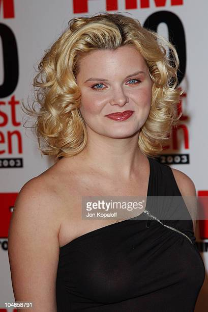 Heather Tom during FHM's '100 Sexiest Women in the World' Party CoSponsored by Smirnoff Vodka at Raleigh Studios in Hollywood California United States
