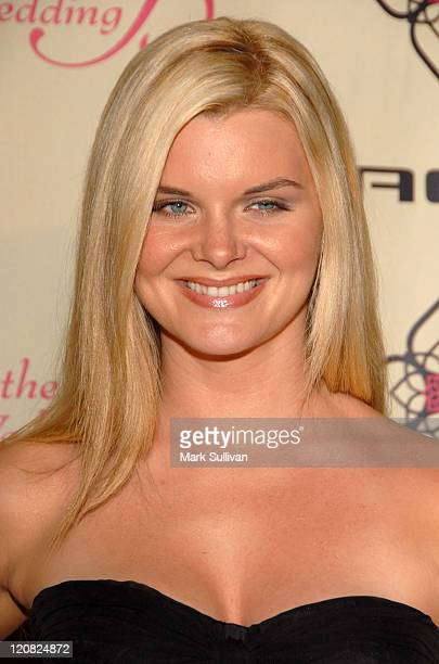 Heather Tom during FOX's 'The Wedding Bells' Premiere Party Arrivals at The Wilshire Ebell Theatre in Los Angeles California United States