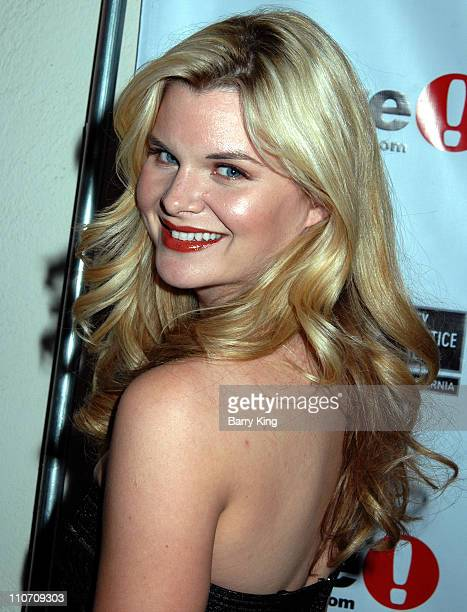 Heather Tom during Here Network founders Paul Colichman and Stephen Jarchow Honored at 2007 ACLU Pride Partnership Awards Inside at Private Residence...