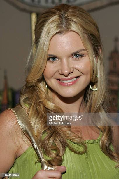 Heather Tom during Jared Gold's Black Chandelier Runway Show Arrivals and Front Row at The Los Angeles Theater in Los Angeles California United States