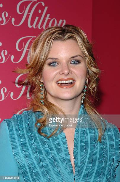 Heather Tom during Paris Hilton's Fragrance Launch Party at Duvet in New York City New York United States