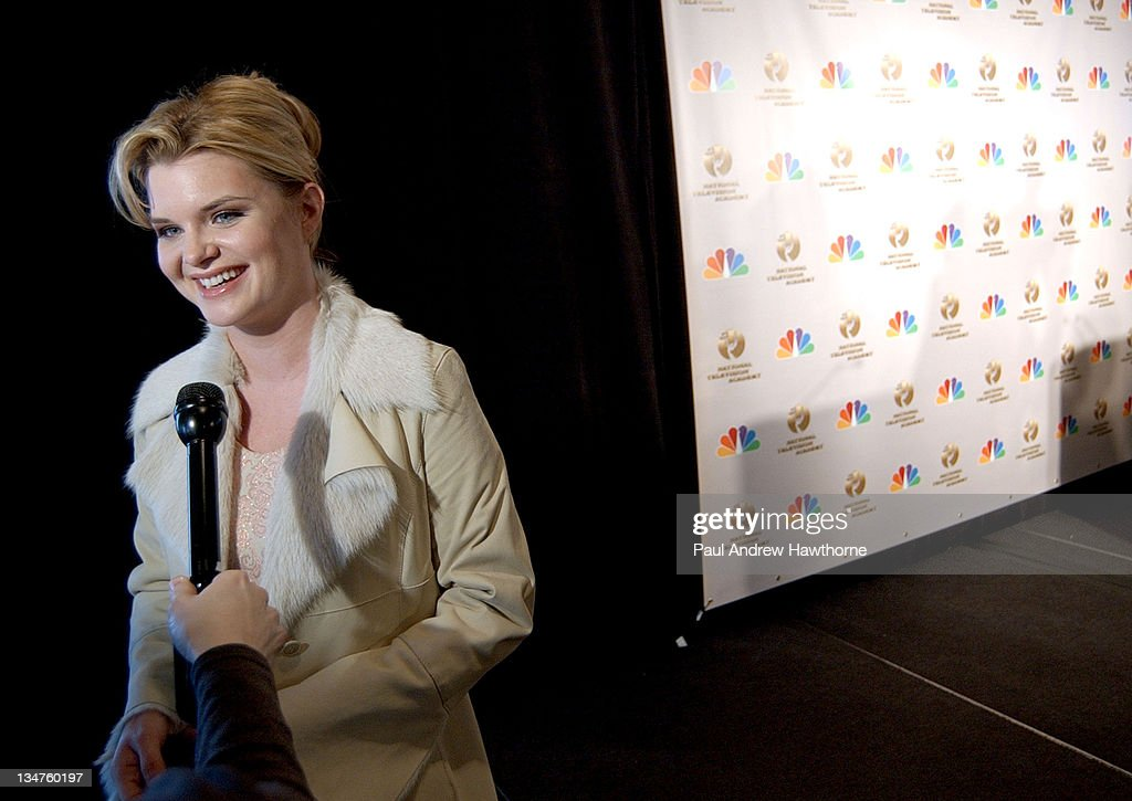 Heather Tom of 'One Life to Live' during 31st Annual Daytime Emmy Awards Nominations Announced Live on 'The Today Show' at Rainbow Room in New York...