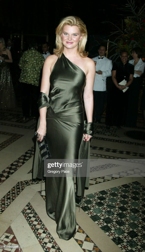 <a gi-track='captionPersonalityLinkClicked' href=/galleries/search?phrase=Heather+Tom&family=editorial&specificpeople=208780 ng-click='$event.stopPropagation()'>Heather Tom</a>, wearing a a dress by Pamela Dennis during The Actors Fund of America's 'Razzle Dazzle' Gala at Cipriani - 42nd Street in New York City, New York, United States.