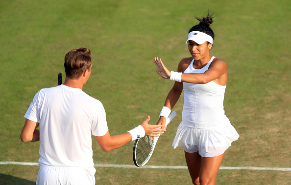 Wimbledon 2017 - Day Nine - The All England Lawn Tennis and Croquet Club : News Photo