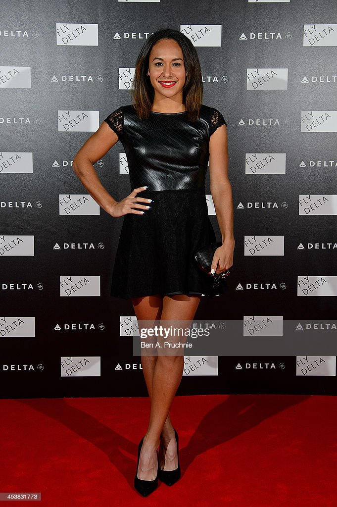 <a gi-track='captionPersonalityLinkClicked' href=/galleries/search?phrase=Heather+Watson&family=editorial&specificpeople=5418928 ng-click='$event.stopPropagation()'>Heather Watson</a> attends Delta Air Lines Presents A Night Under The Bridge at Stamford Bridge on December 5, 2013 in London, England.