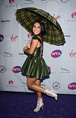 Heather Watson attends the annual WTA PreWimbledon Party presented by Dubai Duty Free at the Kensington Roof Gardens on June 23 2016 in London England