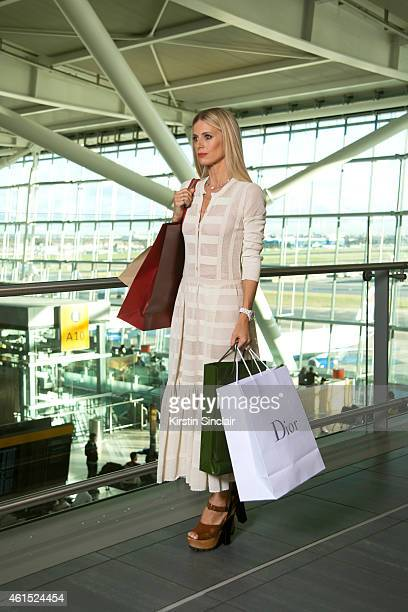 Heathrow Appoints British Style Icon Laura Bailey as its first ever style hunter for Terminal 5's New Launch at Heathrow Airport on January 14 2015...