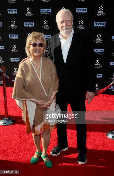Heavenly Koh Wilson and actor Scott Wilson attend the 2017 TCM Classic Film Festival's Opening Night Gala and 50th Anniversary Screening of 'In The...