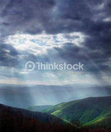 Heavenly light : Stock Photo