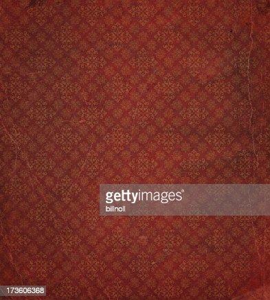 heavily distressed wallpaper pattern
