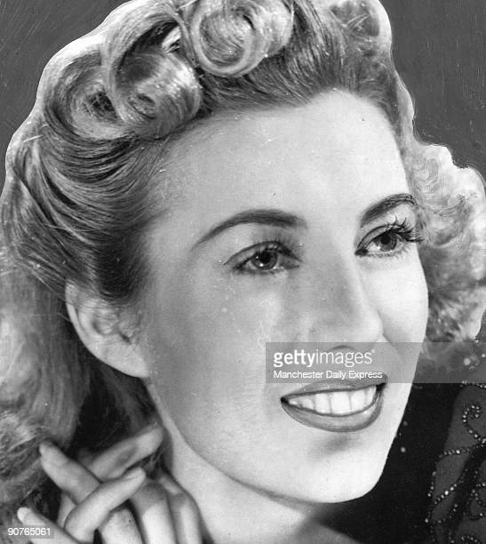 Heavily retouched photograph of Vera Lynn originally Vera Margaret Lewis who began singing in working men�s clubs at the age of seven In 1935 she...