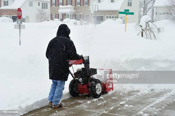 La tempesta di neve essere rimosso da Sgombraneve