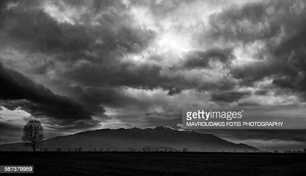 Heavy cloudscape