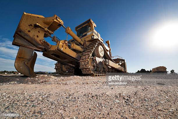 Heavy Equipment Bulldozer with Plow